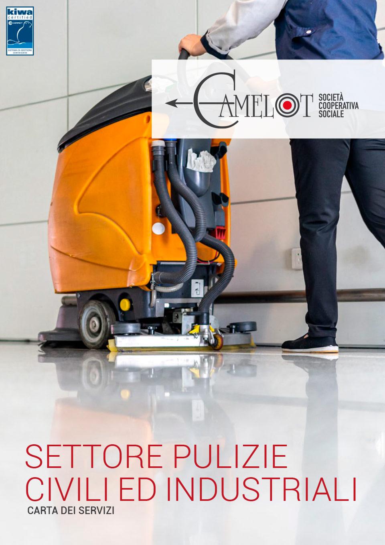 Brochure servizi di pulizia e sanificazioni